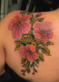 Fiori Hawaiani Tattoo.Ibisco Il Fiore Ufficiale Delle Hawai I Love Hawaii