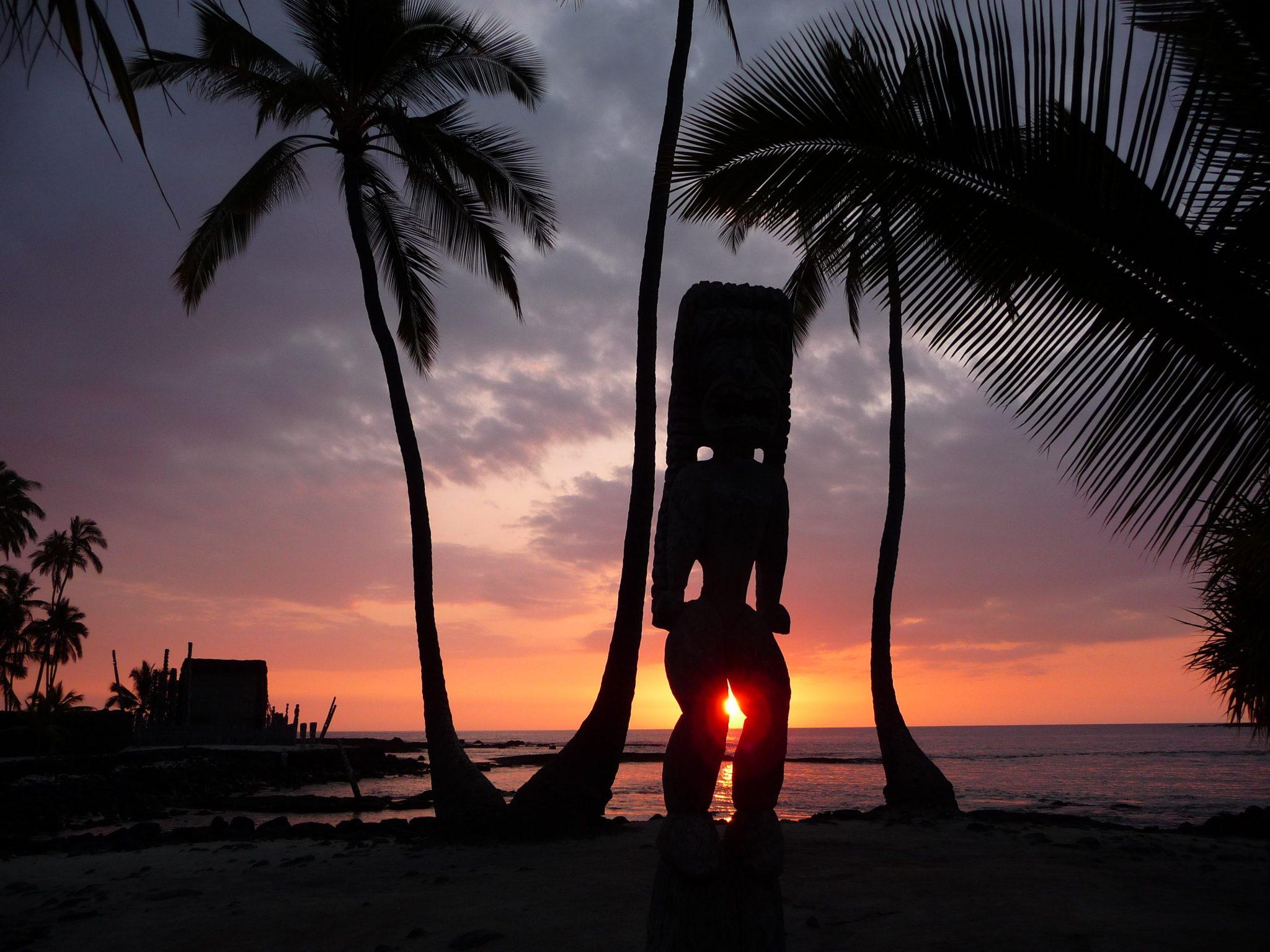 Dio al tramonto