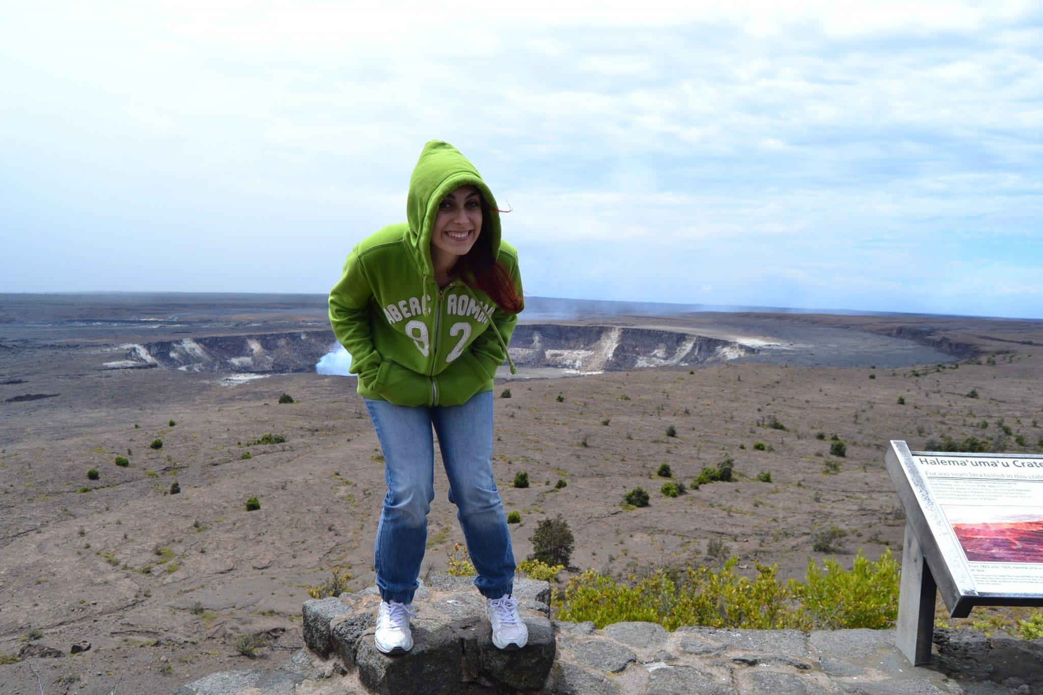 Donatella e il vulcano