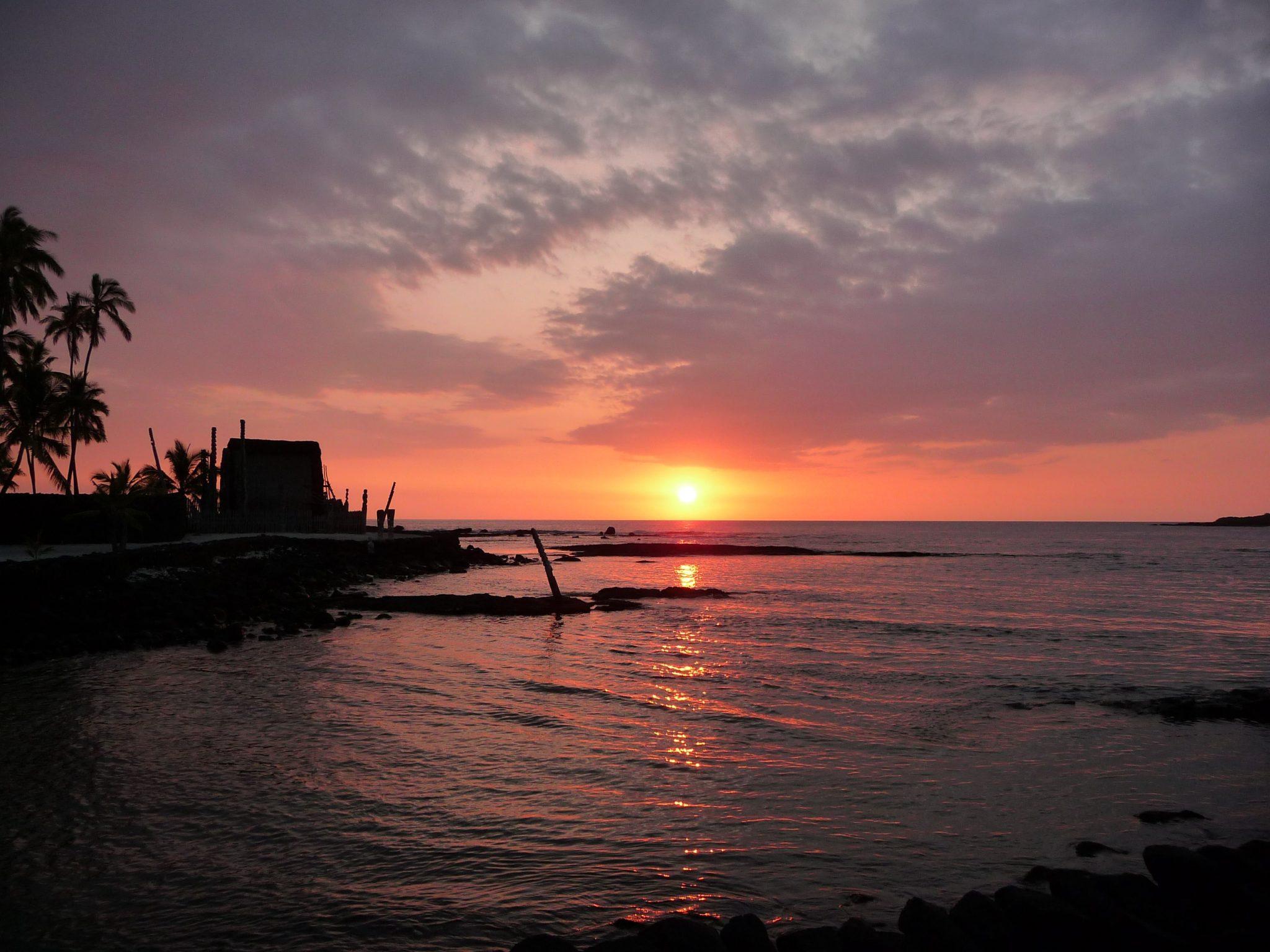 Sole tramonta